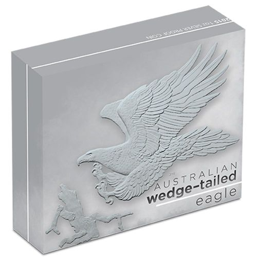 AUSTRALIAN WEDGE-TAILED EAGLE -  2016 1 oz Silver Proof Coin Perth Mint