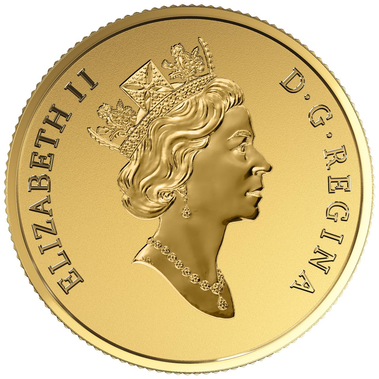 coin with queen elizabeth ii