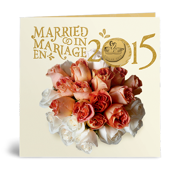 Personalized Wedding Gifts Canada: 2015 Royal Canadian Mint