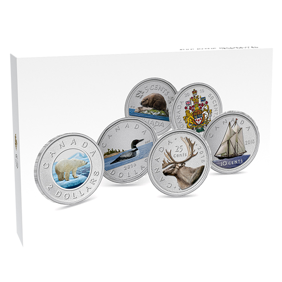 BIG COIN SERIES: DISPLAY CASE FOR ALL 6 BIG 5 OZ COINS - Royal Canadian  Mint - The Coin Shoppe