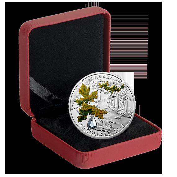 Buy 2017 Canada 1 oz Silver $20 Jewel of the Rain: Sugar