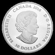 ILLUMINATED UNDERWATER REEF - 2016 $30 2 oz Fine Silver Coin