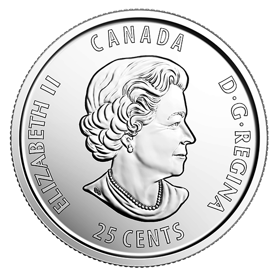 2017 25cent 125th Anniversary of The Stanley Cup 25 cents Quarter from mint Roll