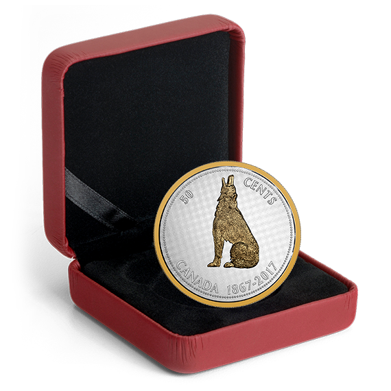 5 oz Pure Silver Coin Big  Series: Alex Colville Designs:2017 canada 1 Cent