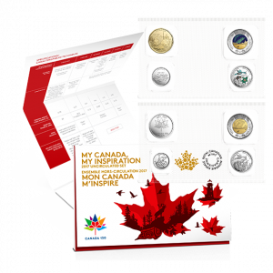 2017 MY CANADA - MY INSPIRATION - UNCIRCULATED 8 COIN SET
