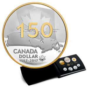 *CANADA 150: Our Home and Native Land - 2017 Special Edition Pure Silver Proof Set
