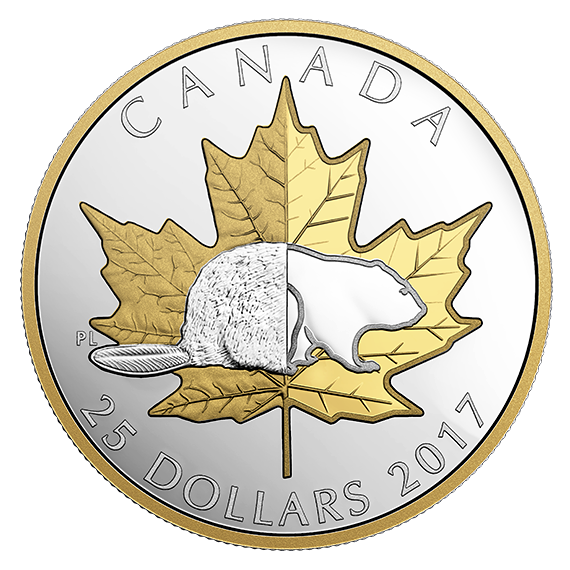 Canadian Maple Leaf Silver Coin
