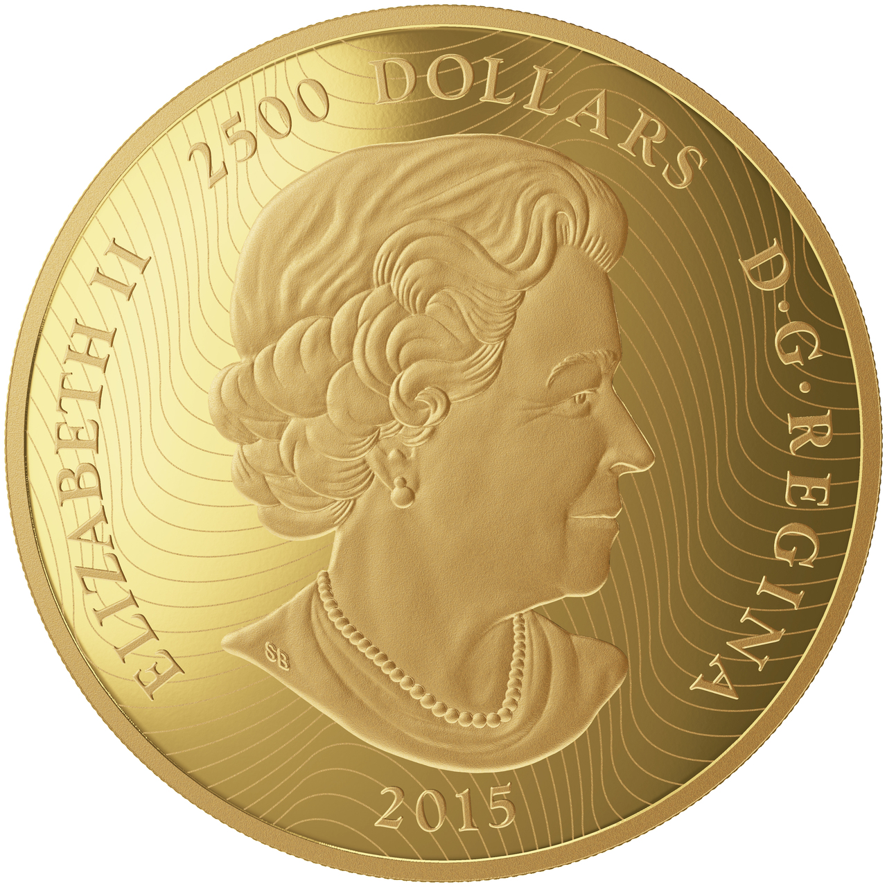 2015 2500 1 Kilo Pure Gold Coin Maple Leaf Forever