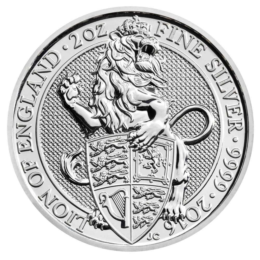 The Lion Of England The Queen S Beasts 2016 2 Oz