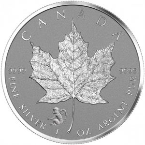 MAPLE LEAF MONKEY PRIVY - 2016 1 oz Reverse Proof Silver Coin - Royal Canadian Mint