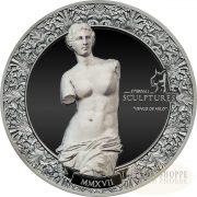 VENUS DE MILO - ETERNAL SCULPTURE - 2017 2 oz Pure Silver Coin - Two-Sides smartminting?? Technology & Marble Effect