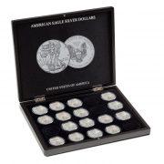 Presentation case for 20 American Eagle Silver Coins