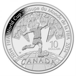FIFA Fine Silver Coin - 1/2 oz - 2014