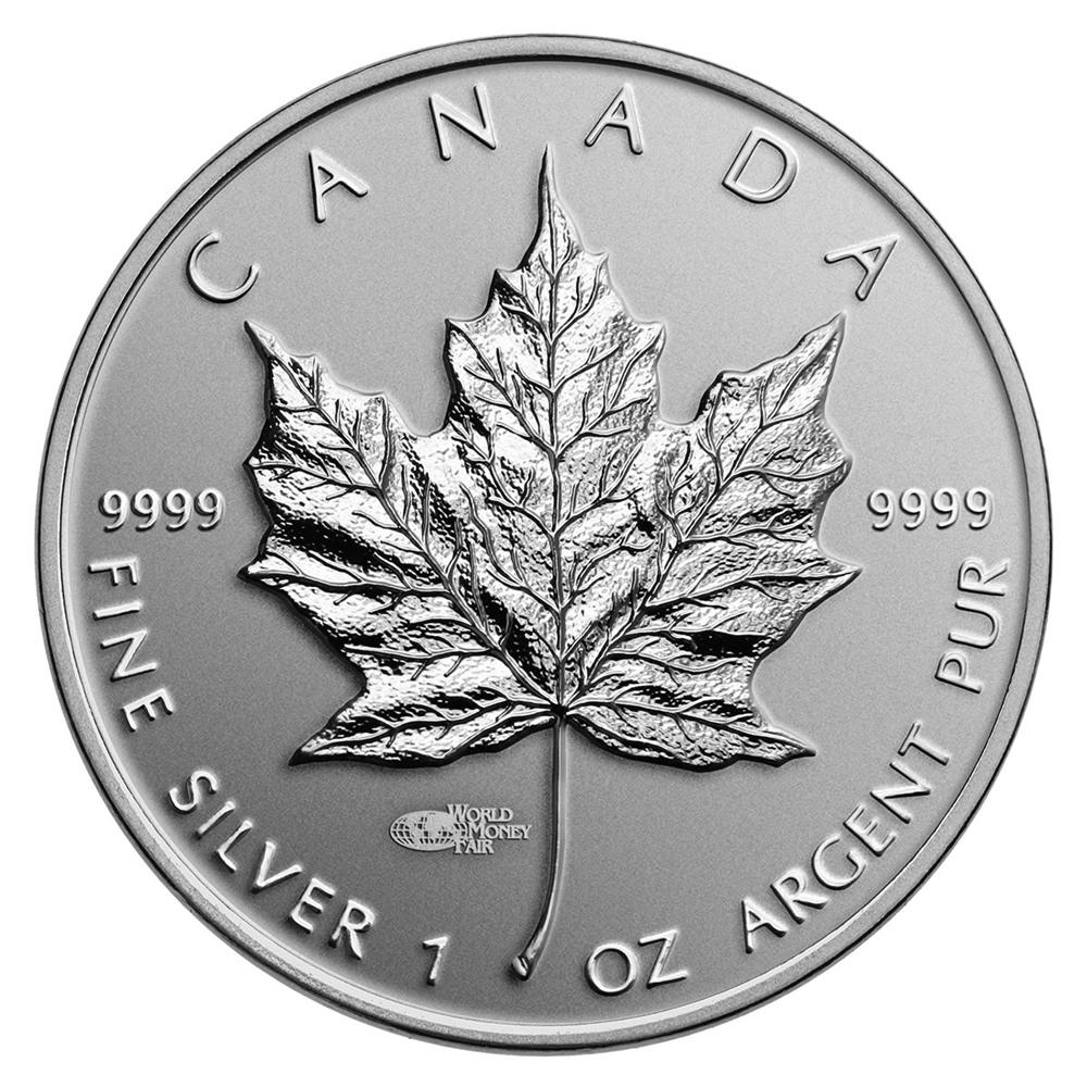 2014 1 Oz Fine Silver Coin Premium Silver Maple Leaf