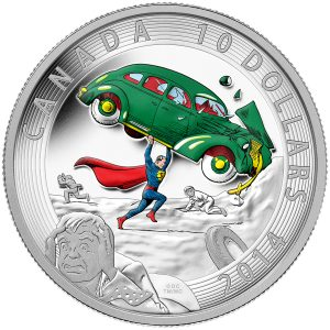 2014 1/2 oz. Silver Coin - Iconic SupermanГ?Ы Comic Book Covers: Action Comics #1 from 1938