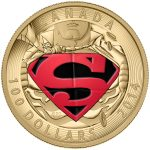 2014 14-Karat Gold Coin - Iconic SupermanГ?Ы Comic Book Covers: The Adventures of Superman #596 from 2001