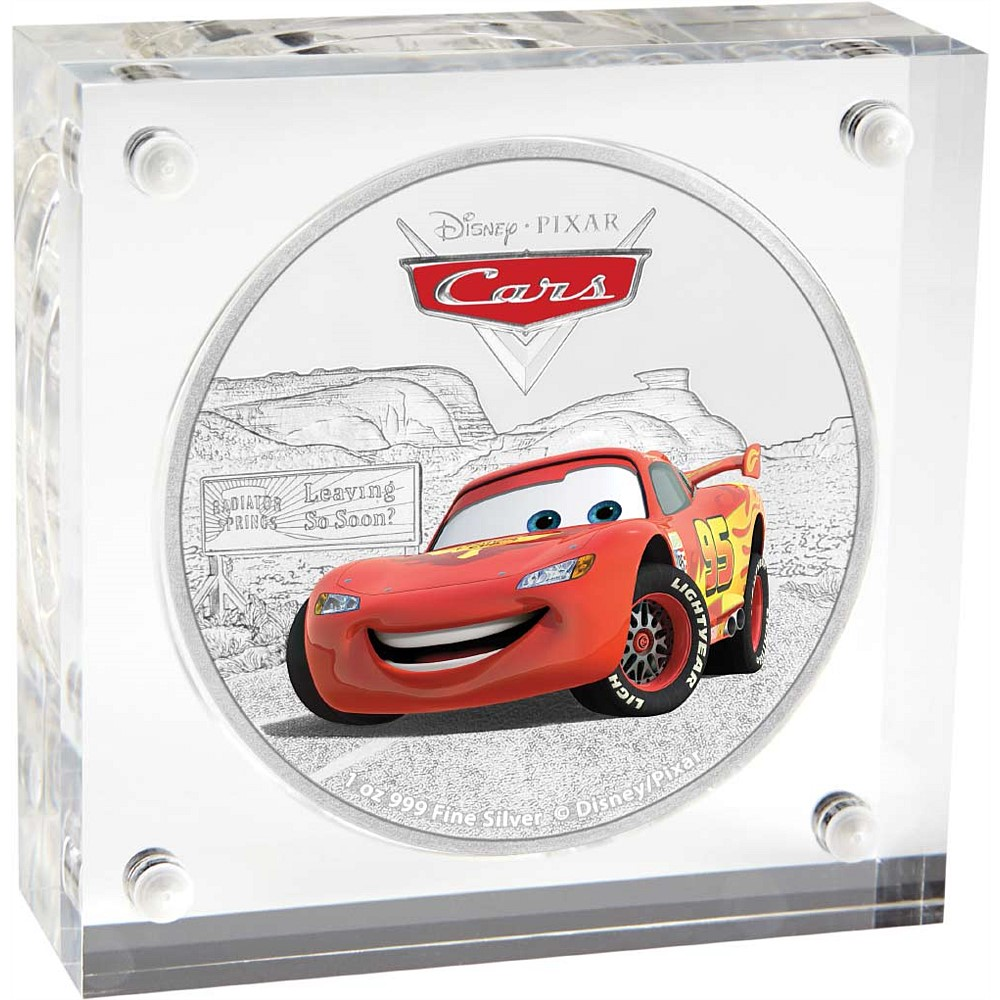 Lightning Mcqueen Pixar Cars Disney 2017 1 Oz Pure