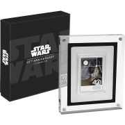 STAR WARS - 40TH ANNIVERSARY - POSTER - 2017 1 oz Pure Silver Coin - NZ MINT