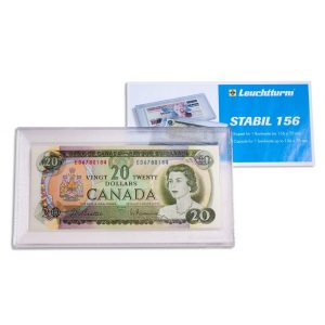 STABIL 156 BANKNOTE HARD PLASTIC HOLDER - LIGHTHOUSE
