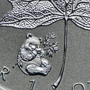 PANDA PRIVY - 2016 1 oz Pure Silver Maple Leaf Reverse Proof SEALED Coin