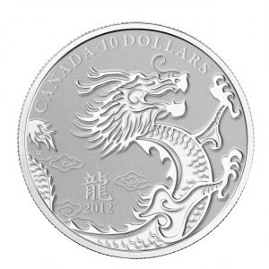 Year of the Dragon - 1/2 oz Fine Silver Coin