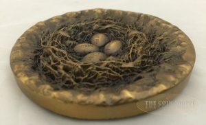 MAKE THE SKY HAPPY FOREVER - LIFE SERIES - 2012 80 mm Brass Medal - Shanghai Mint