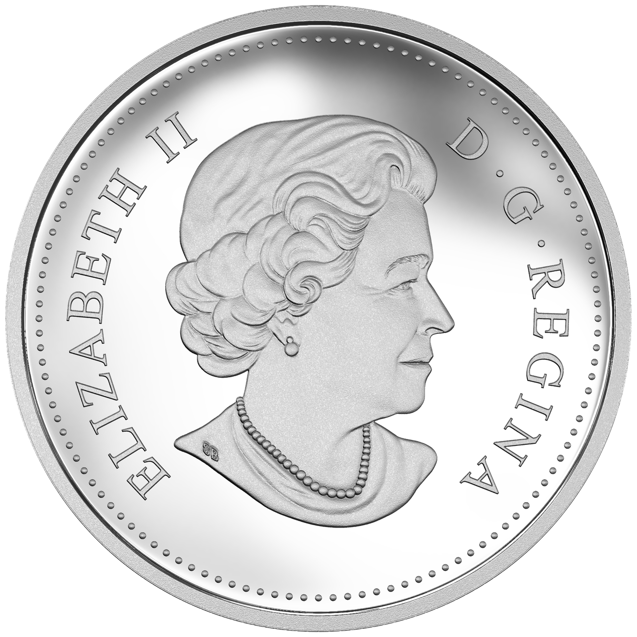 The catch Canada $20 1 oz Grizzly Bear 2015 Proof Fine Silver Coin