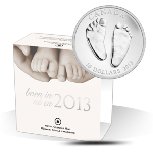 1/2 oz Fine Silver Coin - Welcome to the World