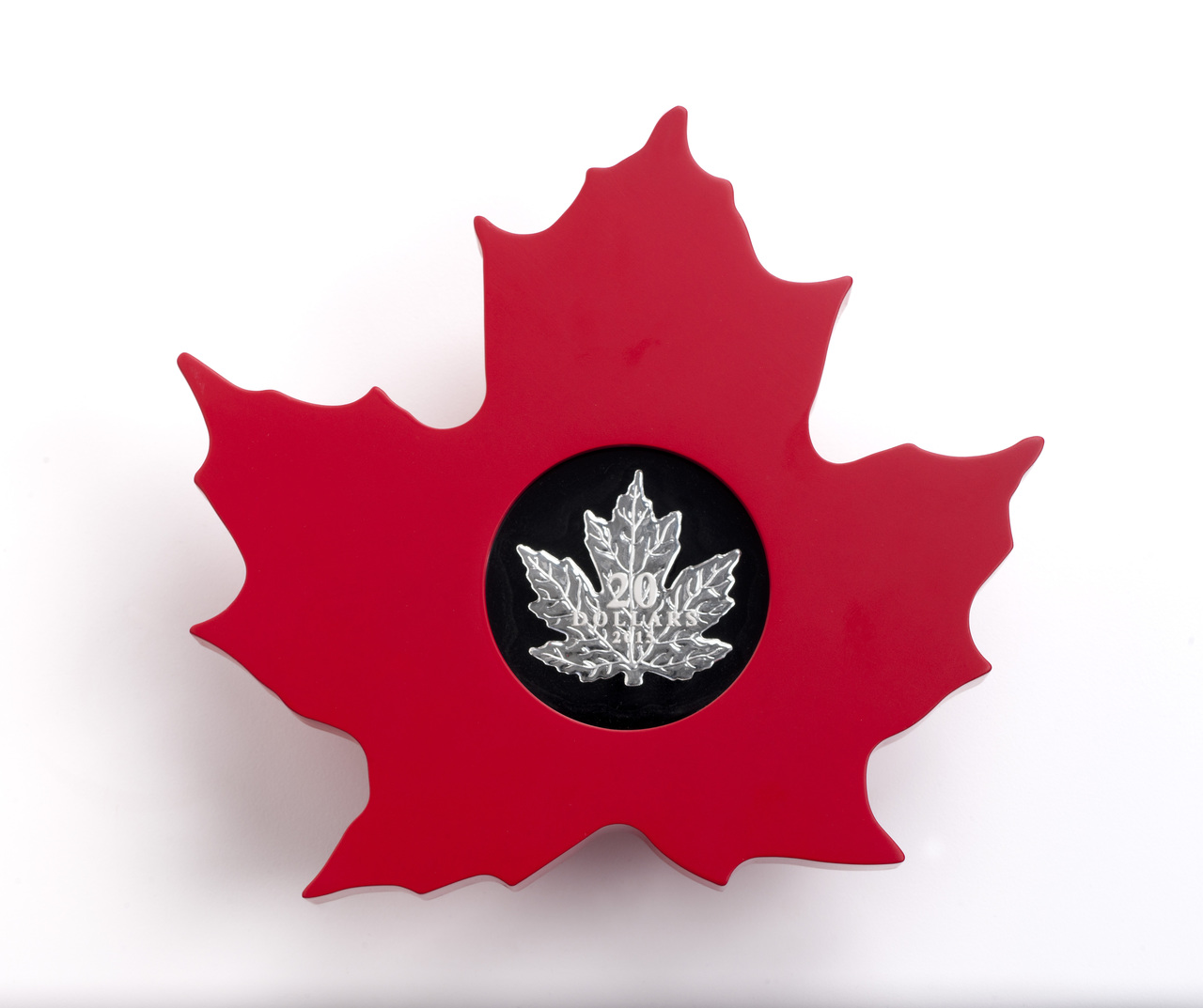2015 20 1 Oz Fine Silver Coin The Canadian Maple Leaf