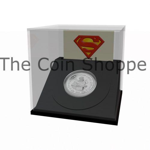 1/4 oz $10 Fine Silver Coin - Vintage Supermanƒ?› (2013)