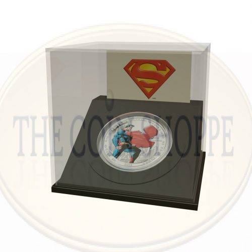 1 oz $20 Fine Silver Coin - Man of Steelƒ?› - Mintage: 10,000 (2013)