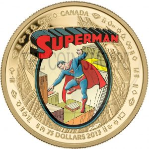 14k $75 Gold Coin - Supermanƒ?›: The Early Years - Mintage: 2,000 (2013)