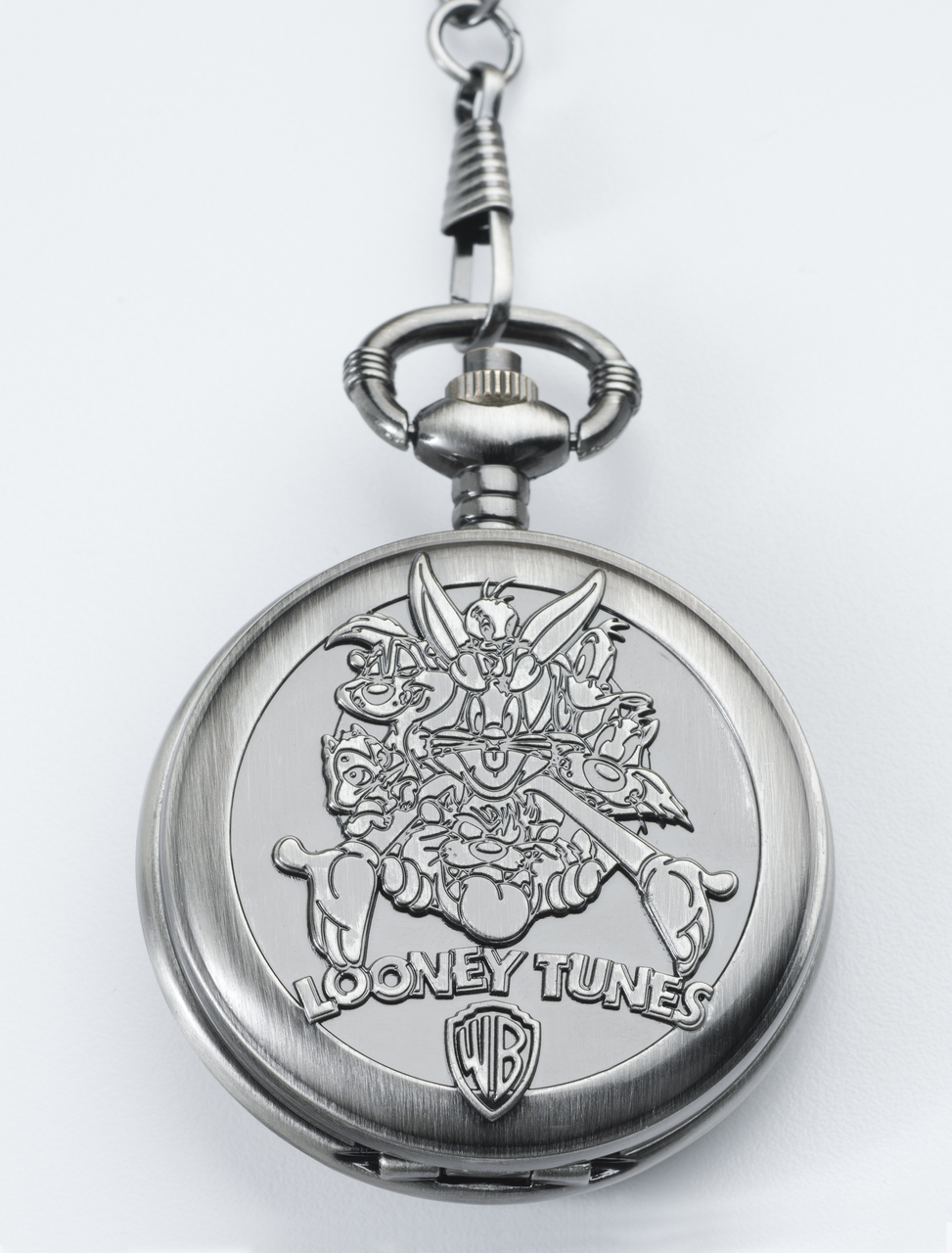 GRAPHICS /& MORE Looney Tunes Bugs Bunny Antiqued Bracelet Pendant Zipper Pull Oval Charm with Lobster Clasp