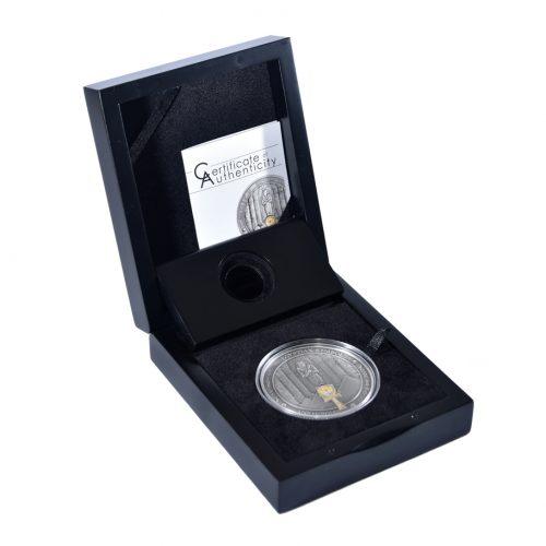 ANKH - EGYPTIAN SYMBOLS - 2014 0.5 Gram Pure Gold Proof Coin - Palau