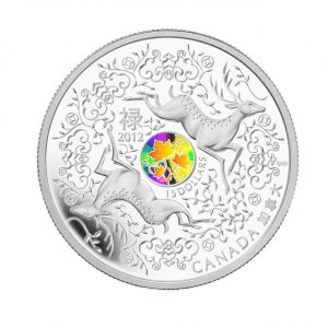 Fine Silver Hologram Coin - Maple of Good Fortune