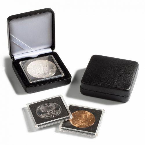 NOBLE Small Coin Box for Quadrum Capsules - Black