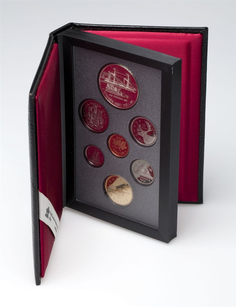 175TH ANNIVERSARY OF THE FRONTENAC - 1991 Special Edition Proof Set - Royal Canadian Mint