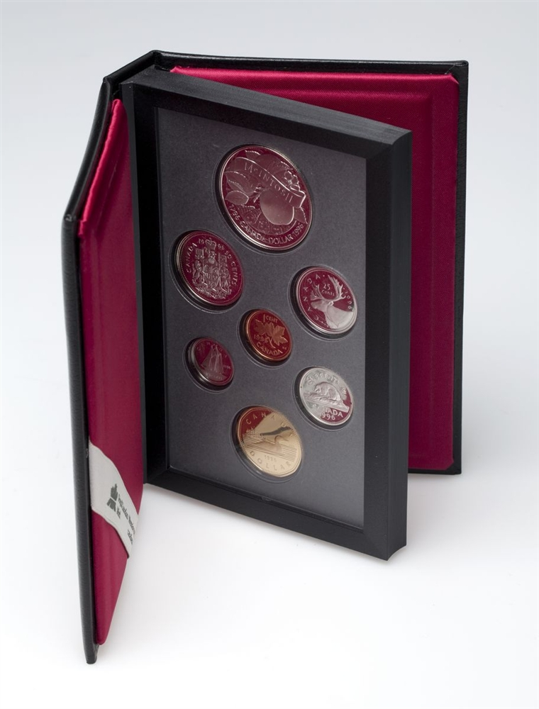 200TH ANNIVERSARY OF JOHN MCINTOSH - 1996 Special Edition Proof Set - Royal Canadian Mint