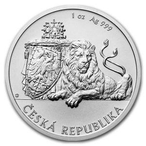 CZECH LION - 2017 1 oz Silver Bullion Coin - Niue - Czech Mint