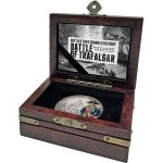 BATTLE OF TRAFALGAR - BATTLES THAT CHANGED HISTORY - 2017 1 oz Fine Silver Coin - Niue - NZ Mint