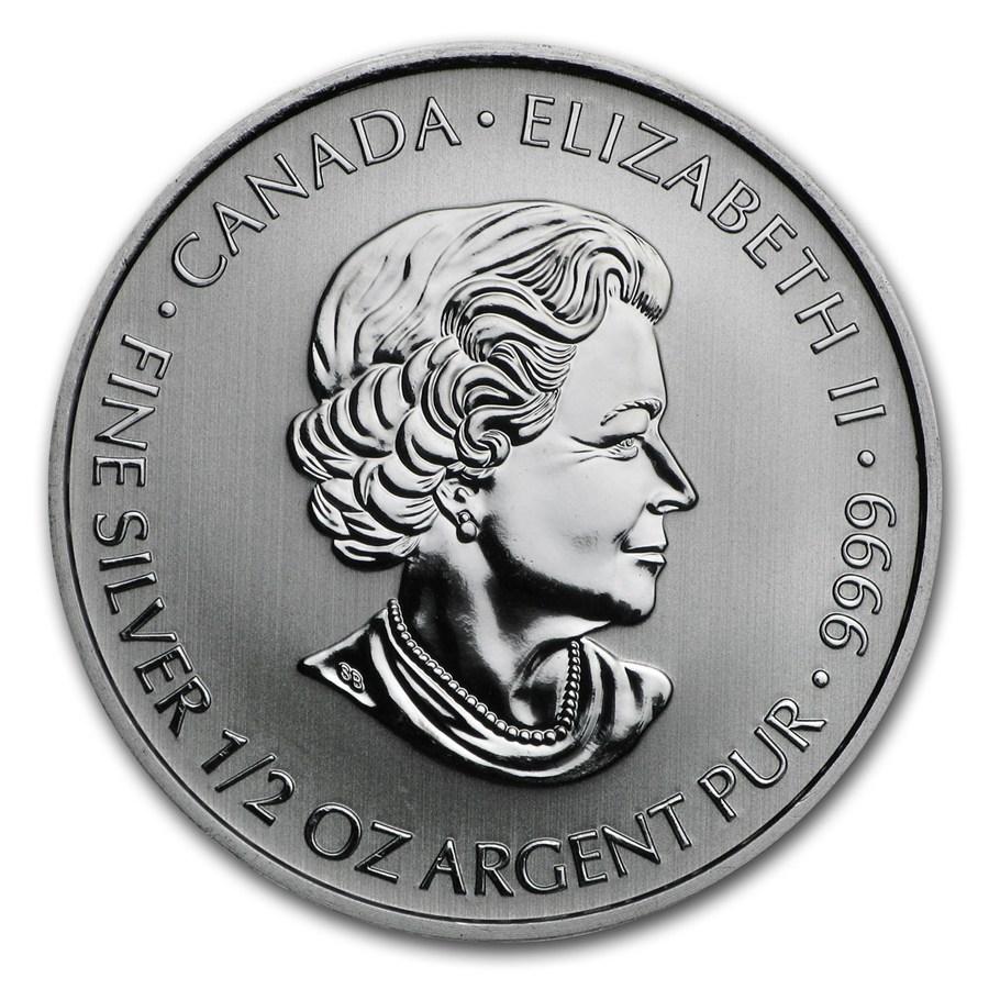 2014 Canada 1//2 oz Silver $2 Devil/'s Brigade First Special Services Force BU