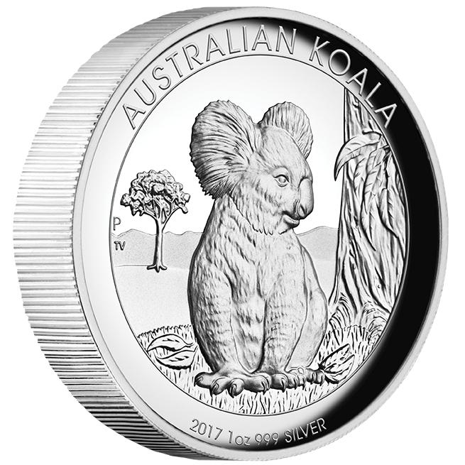 Kangaroo Koala Kookaburra 2017 3 X 1 Oz Pure Silver