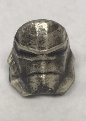 STORMTROOPERS - ANTIQUE FINISH - HAND POURED - 1 oz Pure Silver 3D Bar - BEAVER BULLION & THE COIN SHOPPE