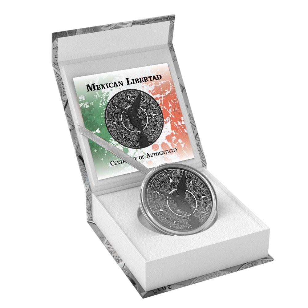1 Oz Mexican Silver Libertad Coin