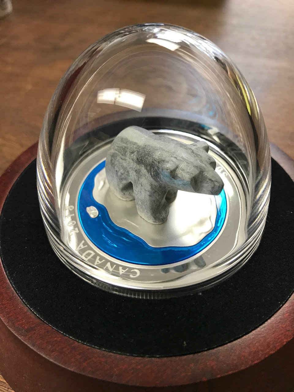 2014 Canada $50 Polar Bear Fine Silver Coin By Royal Canadian Mint In Capsule Coins & Paper Money Other Canadian Coins