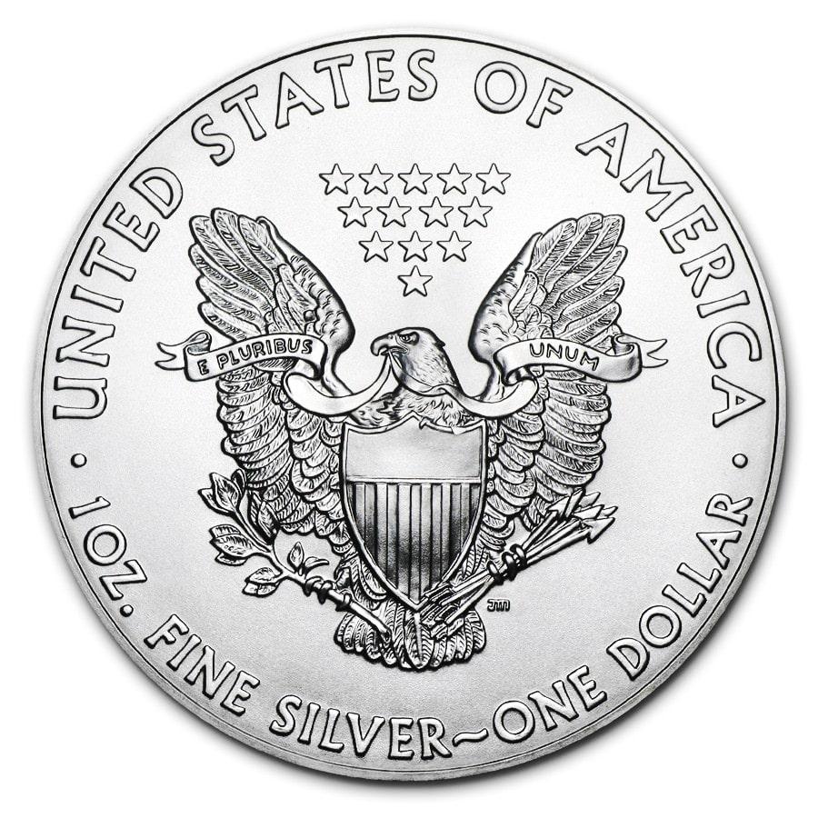 1 Oz Silver American Eagle Colorized