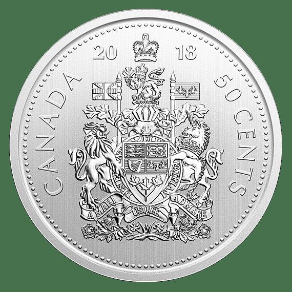 Specimen 2018 Canada Owl 1 Dollar From Mint/'s Set