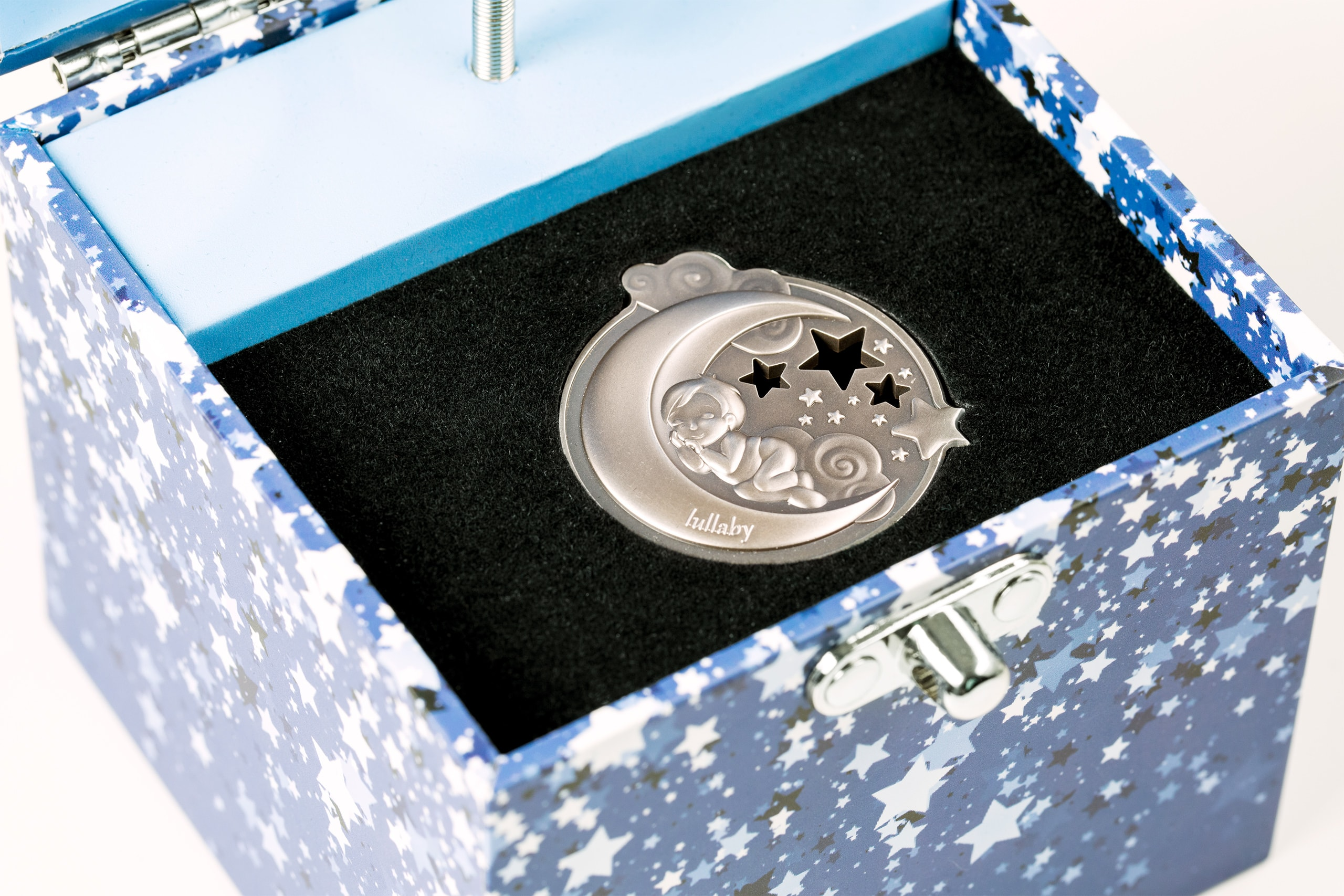Dreaming Boy 1oz .999 Silver Antique Finish Coin 2018 $5 Cook Islands Lullaby