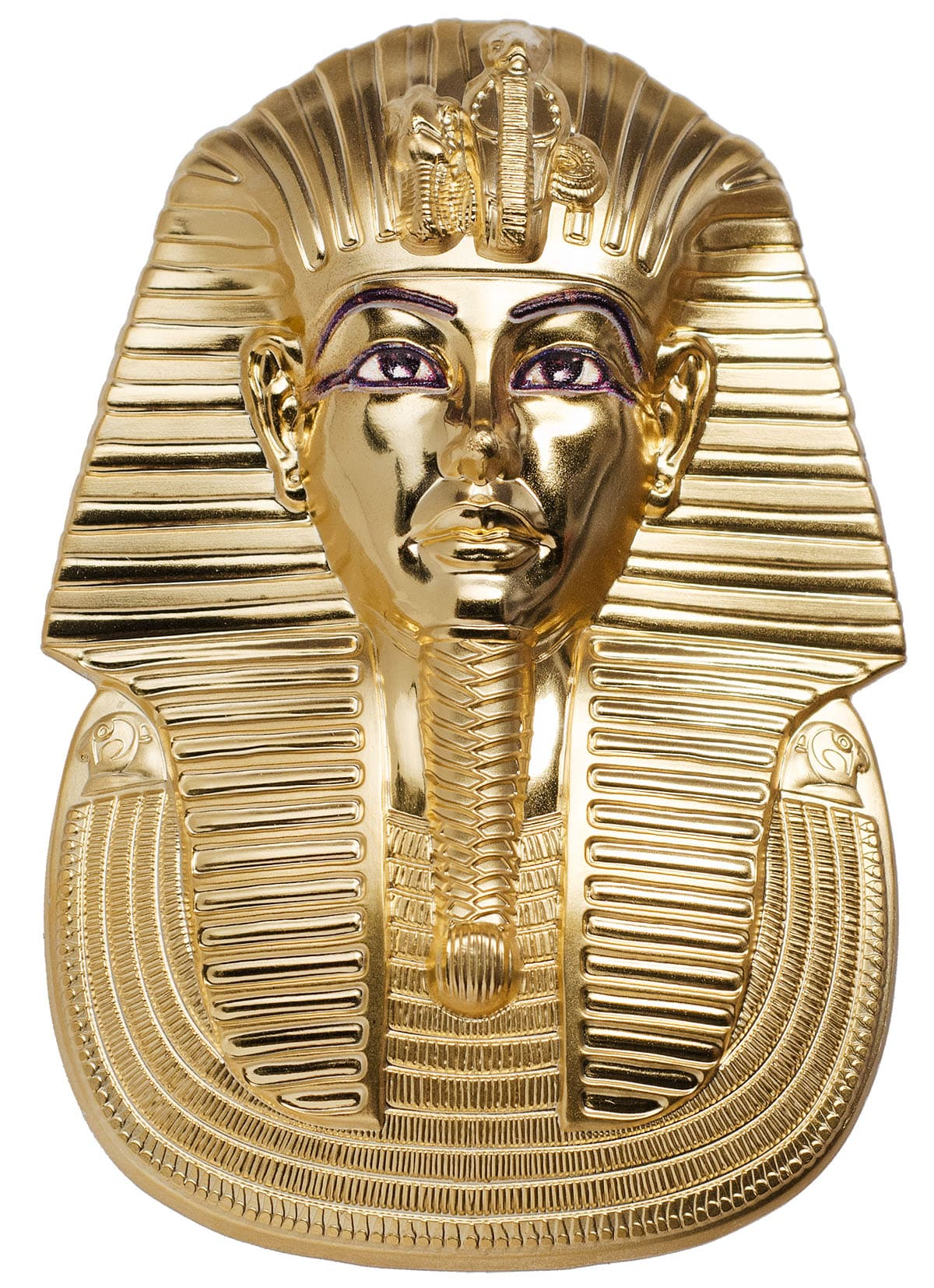 Tutankhamun Mask 2018 3 Oz Unique Shaped Smartminting
