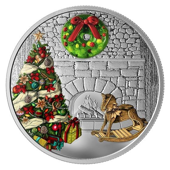2015 **HOT ITEM** $20 Fine Silver Coin Santa Clause Christmas INVESTMENT